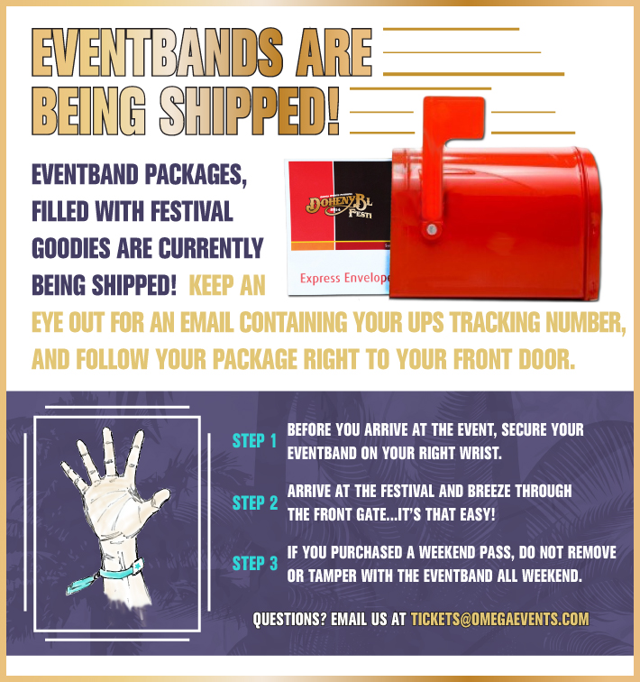 EventBands Shipped vF_DB14