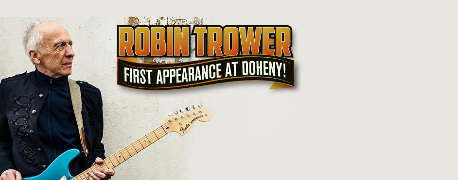 The King of British Blues Guitar, Robin Trower!