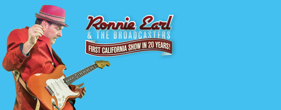 An Exclusive West Coast Appearance for Ronnie Earl!